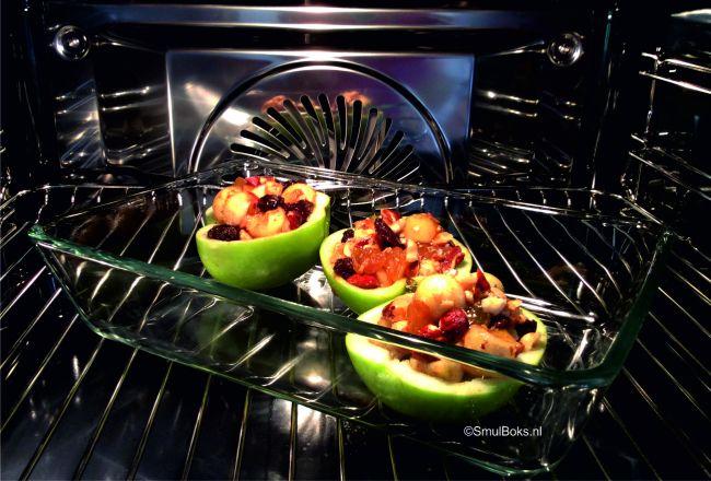 appels in oven