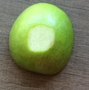 onderkant appel