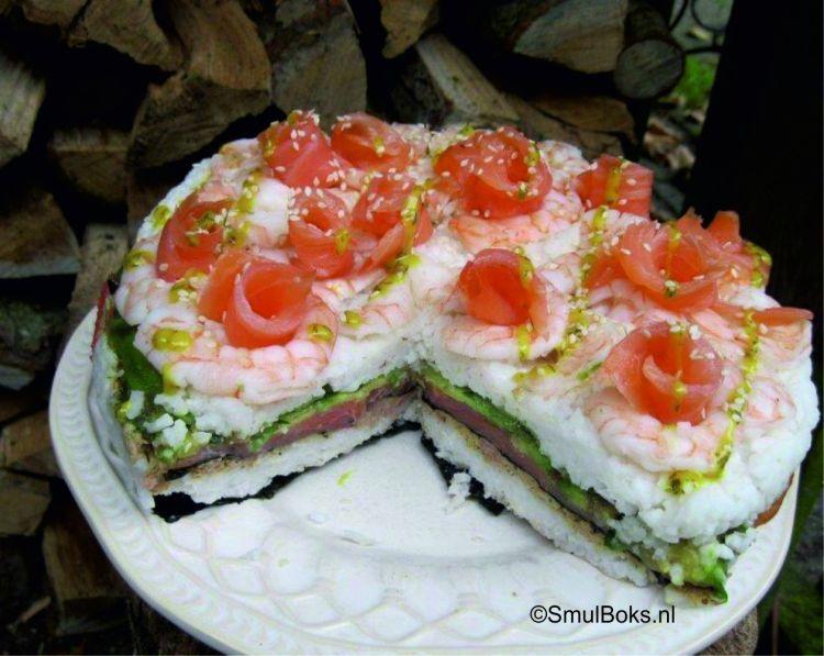 taart sushi