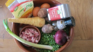 ingredienten boerenkool omelet