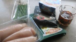 kip met ricotta ingredienten