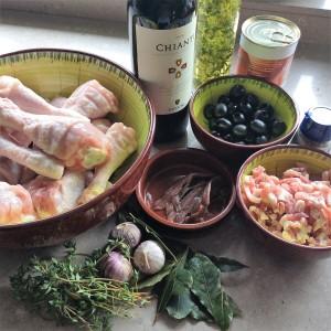 Italiaanse kippenstoof1