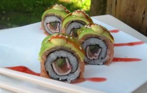 sushi avocado